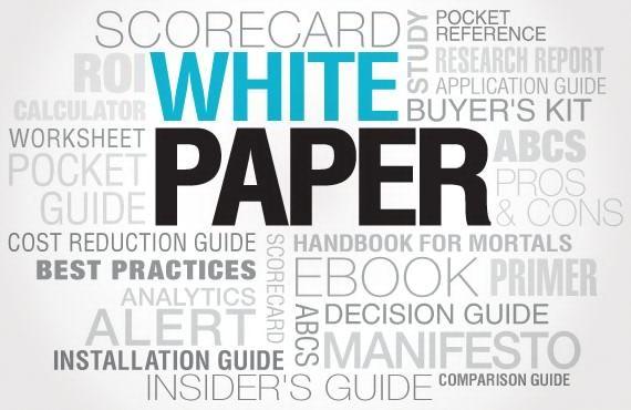Cómo escribir un white paper según Gordon Graham